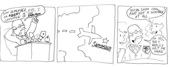 sarcasmia